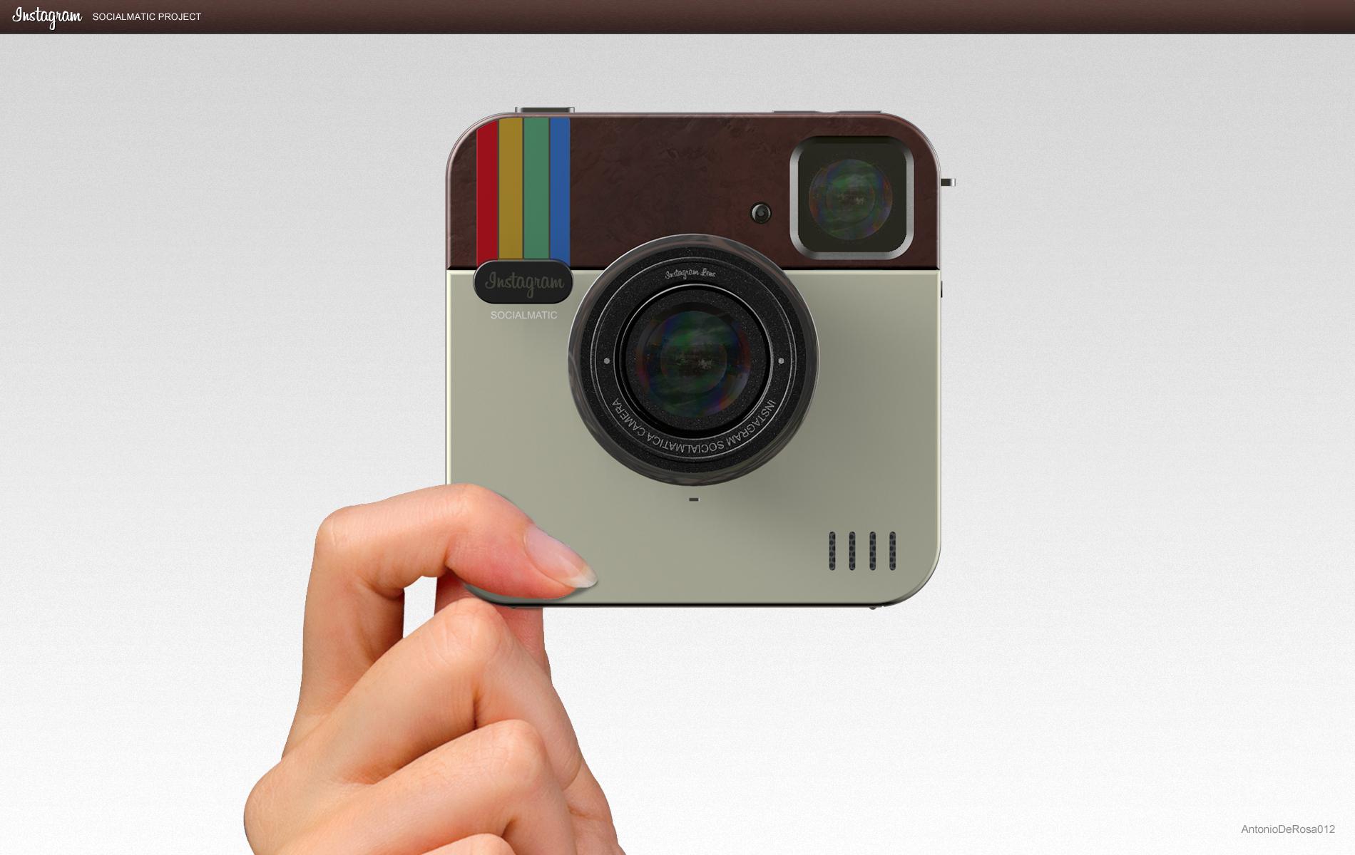Instagram Socialmatic Camera – eine App wird Wirklichkeit?