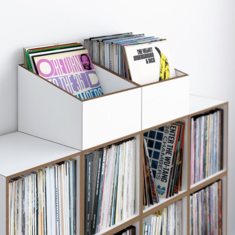 Stocubo Flip-Through-Box – Offen für Vinyl