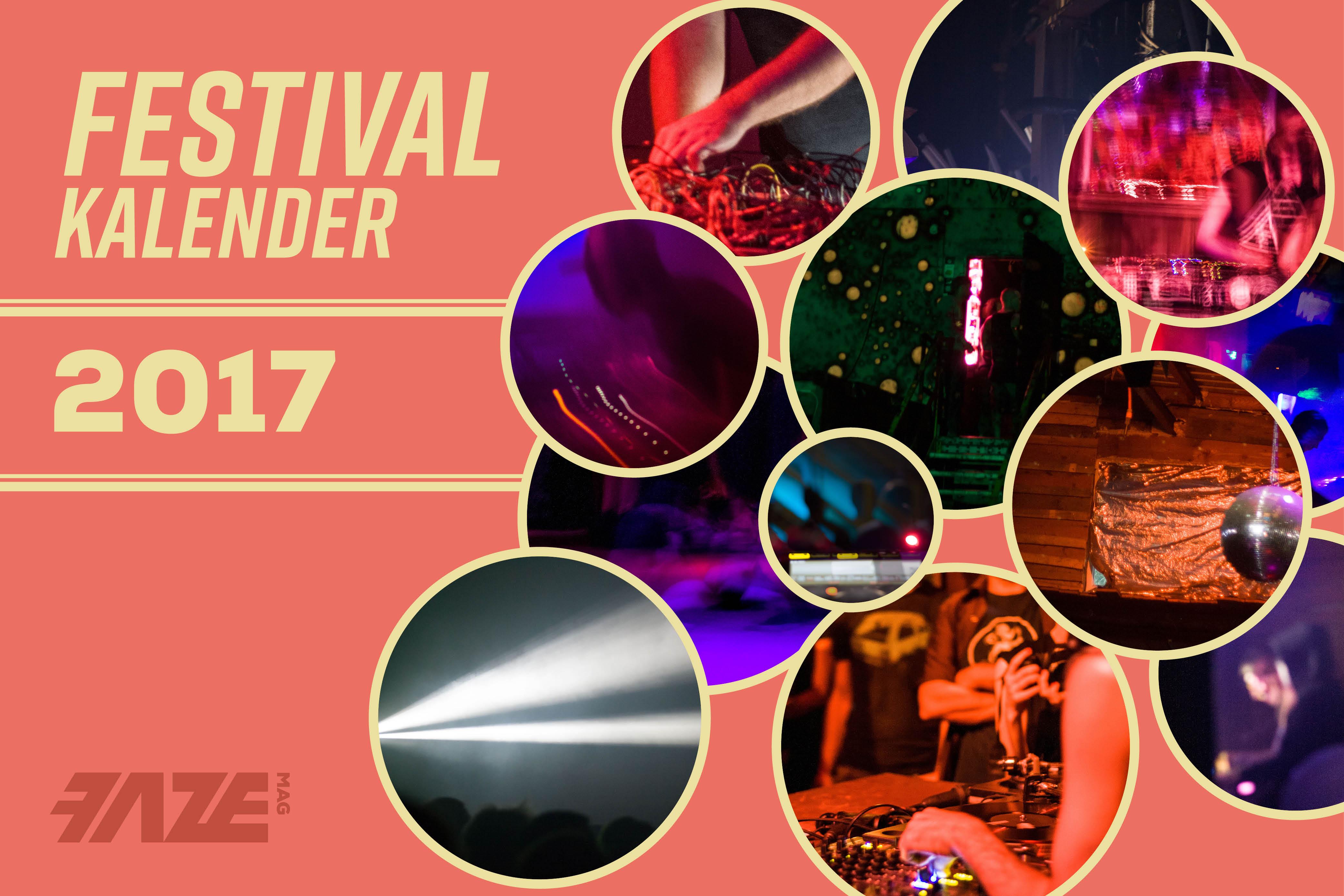 Festivalkalender 2017